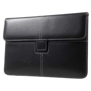 Business Style Leather Pouch Cover for iPad mini 4/3/2/1, Size: 226 x 149mm - Black