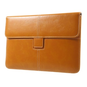 Business Style Leather Sleeve Pouch for iPad mini 4/3/2/1, Size: 226 x 149mm - Orange