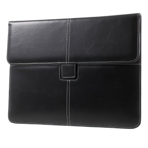 Business Style PU Leather Pouch for iPad Air 2, Size: 263 x 200mm - Black