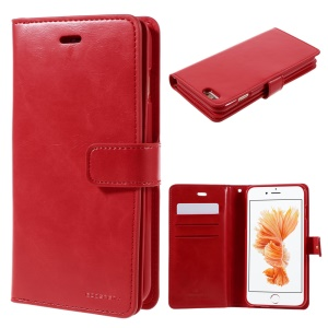 MERCURY GOOSPERY Mansoor Wallet Leather Case for iPhone 6s Plus/6 Plus - Red