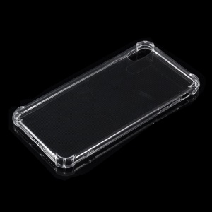 Drop-resistant Clear TPU Cell Phone Case for iPhone Xs Max 6.5 inch