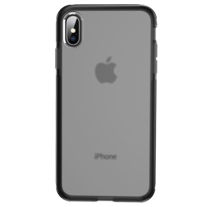 ROCK Drop Resistance TPU & TPE Back Case for iPhone Xs 5.8 inch - Black