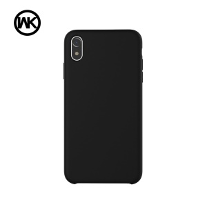 WK Moka Liquid Silicone Protective Cover for iPhone XR 6.1 inch - Black