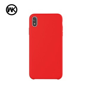 WK Moka Liquid Silicone Protective Case for iPhone XR 6.1 inch - Red