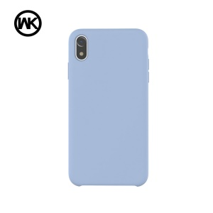 WK Moka Liquid Silicone Protective Shell for iPhone XR 6.1 inch - Blue