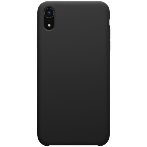 NILLKIN Flex Pure Series Liquid Silicone Case for iPhone XR 6.1 inch - Black