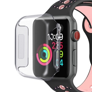 Shock and Bump Resistant TPU Full Protection Case for Apple Watch Series 4 44mm