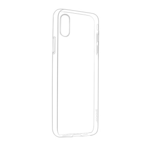 HOCO Light Series Transparent Soft TPU Phone Cover for iPhone XR 6.1 inch - Transparent