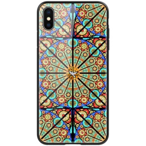 NILLKIN Brilliance Case for iPhone XS Max 6.5 inch PC TPU Tempered Glass Hybrid Case
