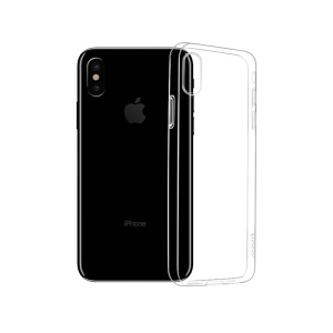 HOCO Light Series Transparent Soft TPU Phone Case for iPhone XS Max 6.5 inch - Transparent