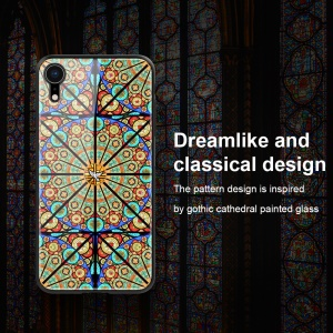 NILLKIN Brilliance Case for iPhone XR 6.1 inch PC TPU Tempered Glass Hybrid Case