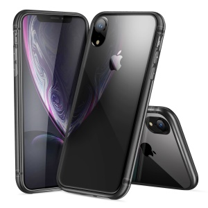 DUX DUCIS Light Series Clear Soft TPU Mobile Cover Case for iPhone XR 6.1 inch - Black