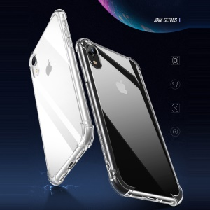 USAMS Jam Series Drop-proof Clear TPU Protection Phone Case for iPhone XR 6.1 inch