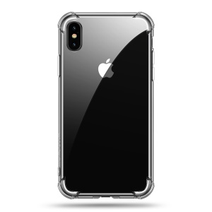 USAMS Jam Series Drop-proof Clear TPU Protection Phone Case for iPhone XS / X 5.8 inch