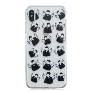 Pattern Printing IMD TPU Case for iPhone XS Max 6.5 inch - Cartoon Birds