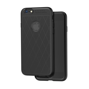 HOCO Admire Series Mobile Case for iPhone 6s/6 4.7 inch 0.8mm [Hollow Holes] Soft Matte TPU Back Case - Black