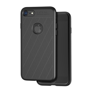 HOCO Admire Series 0.8mm Soft Matte TPU Case for iPhone 8/7 - Black