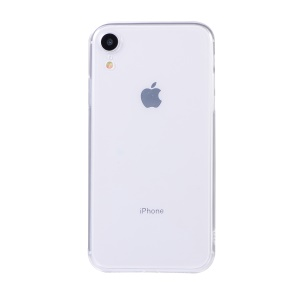 1:1 Scale TPU Back Case for iPhone XR 6.1 inch - Transparent