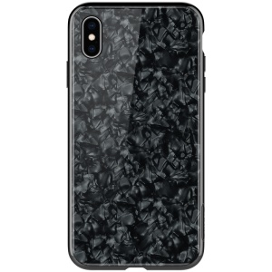NILLKIN Seashell Case 2.5D Tempered Glass and Tough PC Magnetic Phone Case for iPhone XS Max 6.5 inch - Black