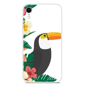 For iPhone XR 6.1 inch Pattern Printing TPU Cellphone Case - Woodpecker