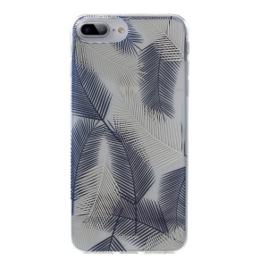 ROAR KOREA Padronizou O Case Móvel IMD PC + TPU Para Iphone 8 Plus / Mais 7 / 6 Mais / 6s Mais 5,5 Polegadas - Azul / Branco