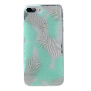 ROAR Pattern Printing IMD PC + TPU Protective Case for iPhone iPhone 8 Plus / 7 Plus / 6 Plus / 6s Plus 5.5 inch - Green / White