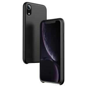 BASEUS Original LSR Series Liquid Silicone Gel Case for iPhone XR 6.1 inch - Black