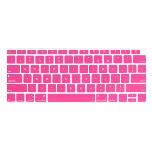 ENKAY Silicone Keyboard Guard Protector for MacBook Air 13-inch with Retina Display 2018 A1932 (US Version) - Rose