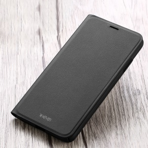 X-LEVEL Wallet Leather Stand Flip Shell for iPhone XR 6.1 inch - Black