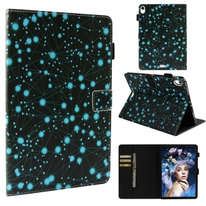 Pattern Printing PU Leather Smart Flip Case for iPad Pro 11-inch (2018) - Dots