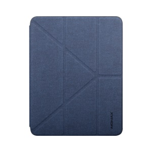 MOMAX Origami Stand Leather Smart Case for iPad Pro 11-inch (2018) - Blue