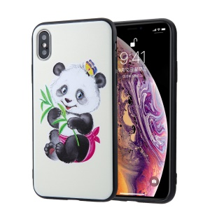 Custodia Ibrida In TPU PC + TPU Per IPhone XS Max Da 6,5 ​​pollici - Adorabili Panda