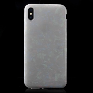 Geometric Pattern IMD TPU Back Case for iPhone XS Max 6.5 inch - Multi-color