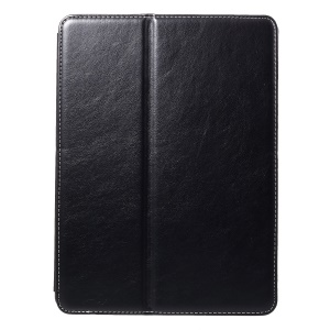 Leather Wallet Stand Case with Pen Slot for iPad Pro 10.5-inch (2017) - Black