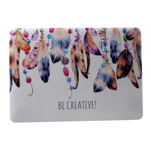 Capa De Notebook Duro Estampada Para Macbook Air 13.3 A1369 / A1466 - Pingente De Pena