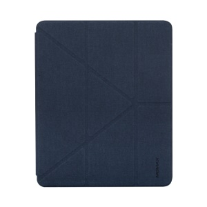 MOMAX Origami Stand Leather Smart Shell for iPad Pro 12.9-inch (2018) - Blue