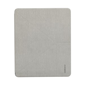 MOMAX Origami Stand Leather Smart Case for iPad Pro 12.9-inch (2018) - Grey