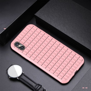 IPAKY Heat Dissipation TPU Mobile Phone Cover for iPhone XS Max 6.5 inch - Pink