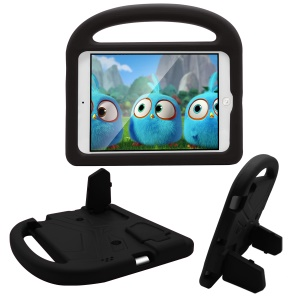 Sparrow Design Shockproof Kids Friendly EVA Tablet Case for iPad 4/3/2 with Bracket and Handle - Black