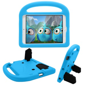 Sparrow Design Shockproof Kids Friendly EVA Tablet Shell for iPad 4/3/2 with Bracket and Handle - Blue