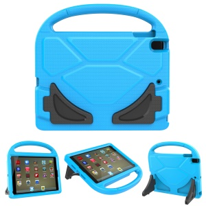 [Football Texture] Kids Friendly EVA Tablet Shell with Bracket and Handle for iPad 9.7 (2018) / 9.7 (2017) / Pro 9.7 (2016) / Air 2 / Air - Blue