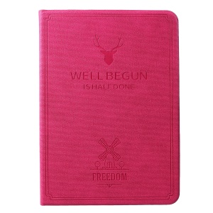 Imprint Deer Pattern PU Leather Tablet Case for iPad Pro 11-inch (2018) - Rose
