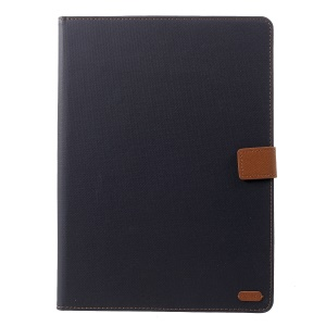 ROAR KOREA Simply Life Diary Leather Casing for iPad Pro 12.9-inch (2018) - Black