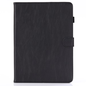 Retro Style PU Leather Wallet Case for iPad Pro 12.9-inch (2018) - Black