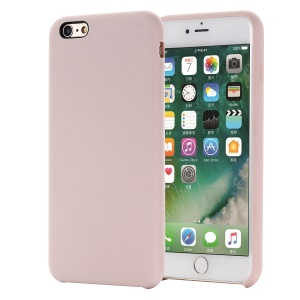 Edge Wrapped Liquid Silicone Cover for iPhone 6s/6 - Pink