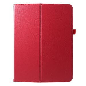 For iPad Pro 12.9-inch (2018) PU Leather Flip Casing with Stand - Red
