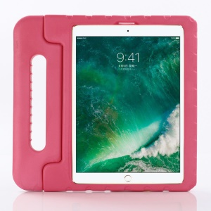 Drop-proof Kids Safe EVA Foam Shell Case with Kickstand for iPad Pro 12.9-inch (2018) - Rose