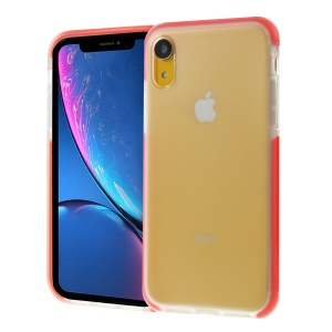 Shocks Resistant TPU Back Phone Case for iPhone XR 6.1 inch - Red
