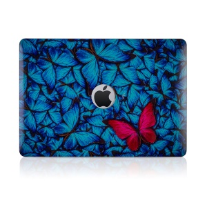 IMD Flower Style Pattern PC Protection Cover for MacBook Pro 13-inch (2016) A1706 A1708 A1989 - Style A