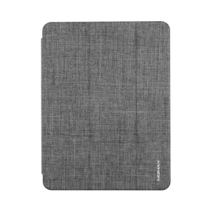 MOMAX Slim Magnetic Flip Cover Shell [with Auto Wake / Sleep and Stand Functions] for iPad Pro 12.9-inch (2018) - Grey